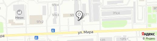 Паркет-Стиль на карте Нижневартовска