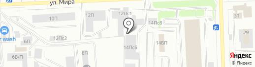 Энфорта на карте Нижневартовска