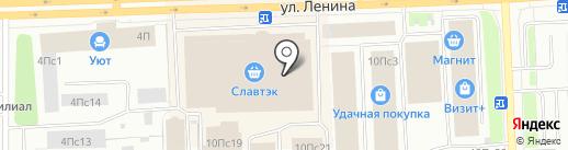 Оскар на карте Нижневартовска