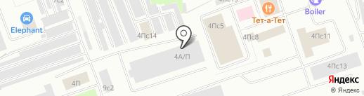 PROFF-пол на карте Нижневартовска