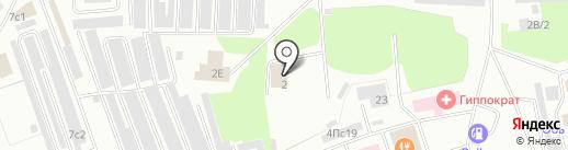 Славтэк на карте Нижневартовска