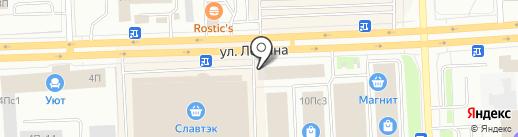 Оптовик на карте Нижневартовска