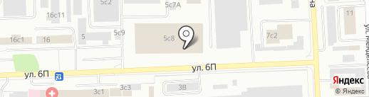 Виктория на карте Нижневартовска