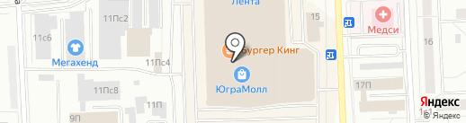 Elena на карте Нижневартовска