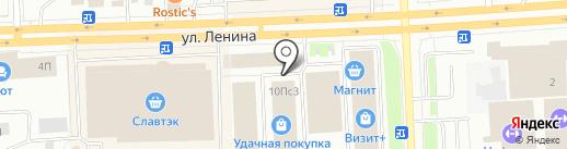 НВ-КОНСАЛТИНГ на карте Нижневартовска