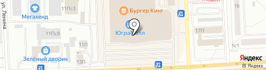 Банкомат, Банк ВТБ24, ПАО на карте Нижневартовска