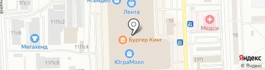 Stilnyashka на карте Нижневартовска