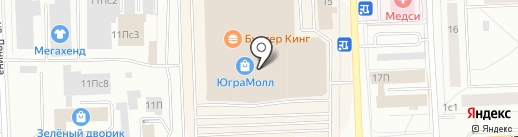 Петербургский стиль на карте Нижневартовска
