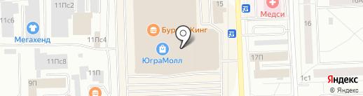 Paparazzi Fashion на карте Нижневартовска