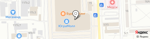 KEYFASHION на карте Нижневартовска
