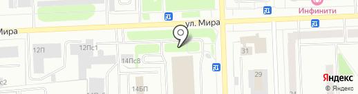 Энерго Инжиниринг на карте Нижневартовска