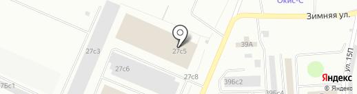 ТК Мегаполис на карте Нижневартовска