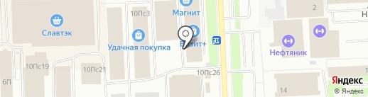 Сказка на карте Нижневартовска