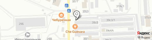 Дэн на карте Нижневартовска
