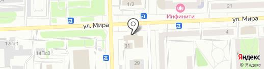 13 договорной отряд ФПС по Ханты-Мансийскому автономному округу-Югре на карте Нижневартовска