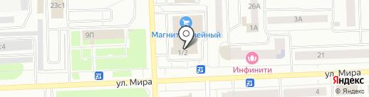 ГАЛАНД на карте Нижневартовска