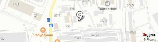 Феникс на карте Нижневартовска