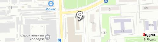 АвтоДуш на карте Нижневартовска