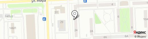 Express-Шина на карте Нижневартовска