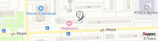 Избушка на карте Нижневартовска