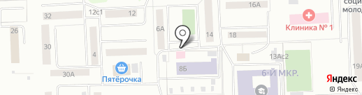Медстар на карте Нижневартовска