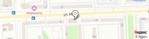 Мамина забота на карте Нижневартовска