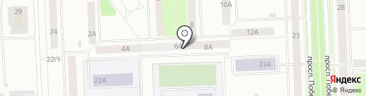Аксум на карте Нижневартовска