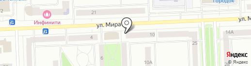 Анастасия на карте Нижневартовска