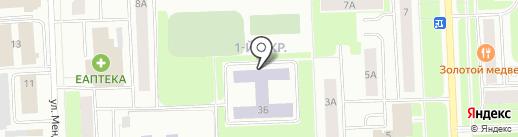 Средняя общеобразовательная школа №6 на карте Нижневартовска
