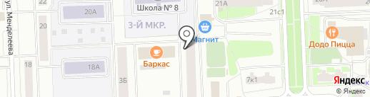 Зоомикс на карте Нижневартовска