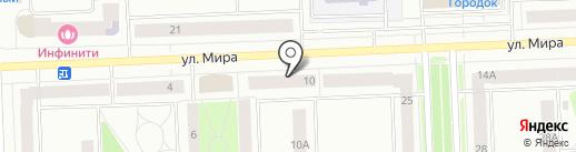 Британика на карте Нижневартовска