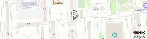 РЭУ-3 на карте Нижневартовска