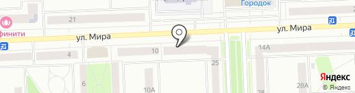 Парикмахерская на карте Нижневартовска