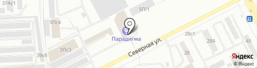 Квестория на карте Нижневартовска