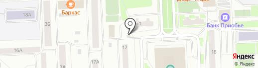 Магазин разливных напитков на карте Нижневартовска