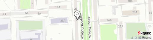 Ренда Заёмно-Сберегательная касса, КПК на карте Нижневартовска