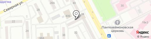 Пилларс-НВ на карте Нижневартовска