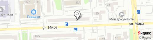 Юни-шарм на карте Нижневартовска