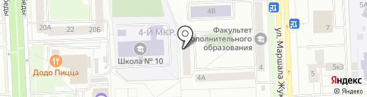 Вартовчанка на карте Нижневартовска