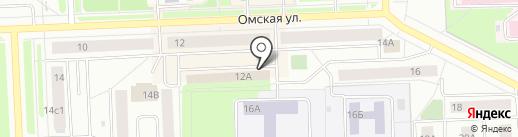 Нижневартовское городское общество слепых на карте Нижневартовска
