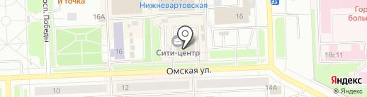 Оптика-центр на карте Нижневартовска