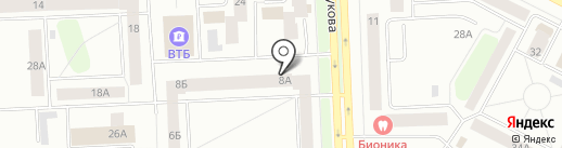 Ателье на карте Нижневартовска