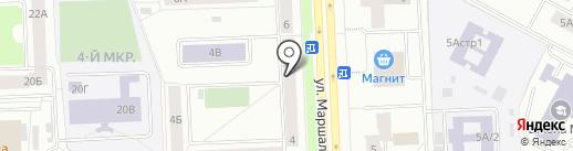 Ремстрой на карте Нижневартовска