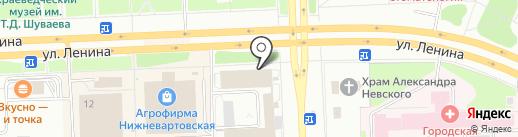 Почта России, ФГУП на карте Нижневартовска