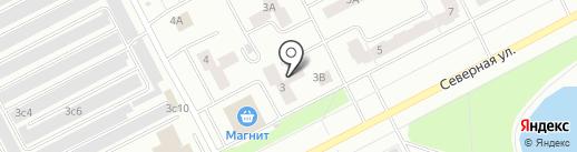 Фаворит на карте Нижневартовска