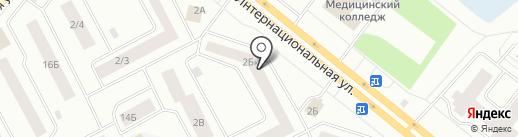 Кухня-НВ на карте Нижневартовска