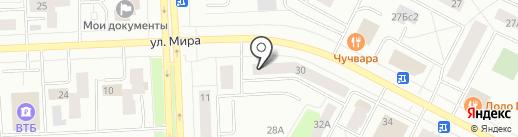 Avon на карте Нижневартовска