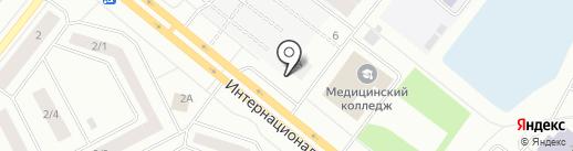 Центр ремонта колес на карте Нижневартовска