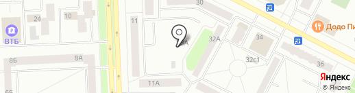 Домовой на карте Нижневартовска