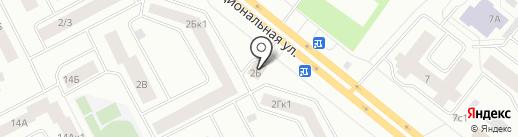 Магазин №945 на карте Нижневартовска